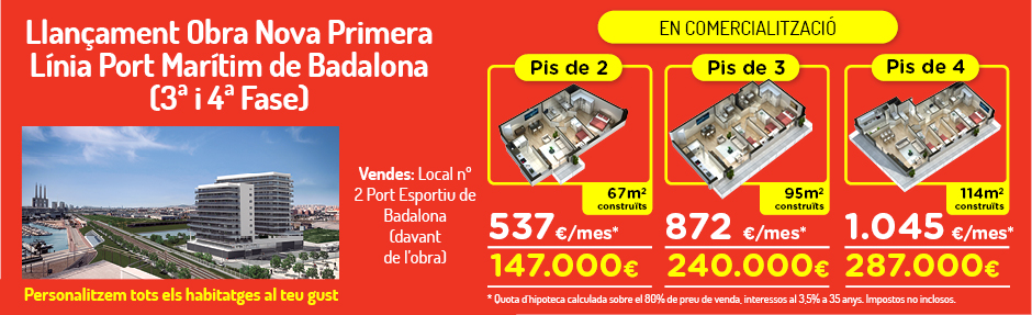 Slide Home Badalona cat5 Home