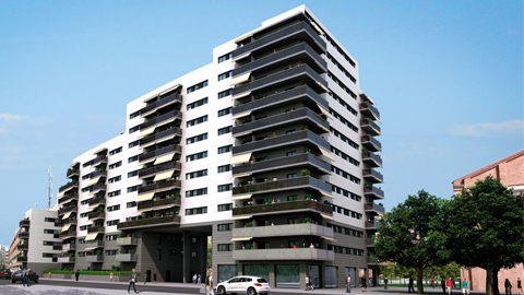 Viviendas de obra nueva en zona de Sants-Les Corts Barcelona